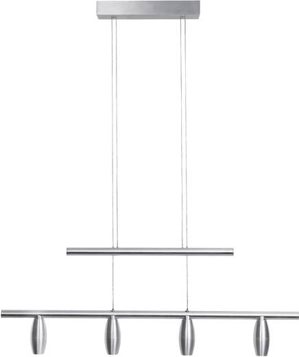 LED-Pendelleuchte 8 W Renkforce Viana LSPL0094 Silber-Grau