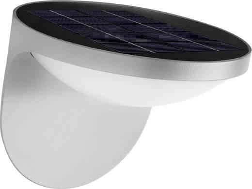 Solar-Außenwandleuchte 1.5 W Warm-Weiß Philips Lighting 17807/87/16 Dusk Grau