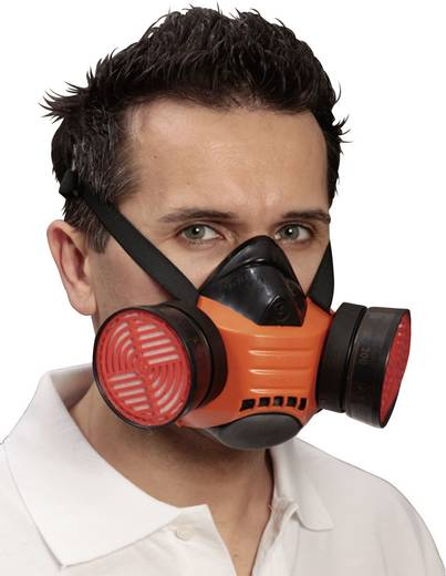Atemschutz Halbmaske ohne Filter EKASTU Sekur Polimask BETA 433 506