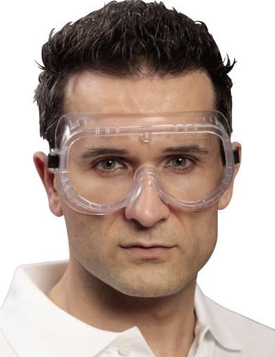 Vollsichtbrille EKASTU Sekur BASIC 277 382 Schwarz, Weiß DIN EN 166-1