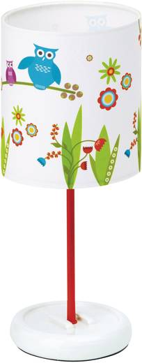 LED-Tischlampe LED LED fest eingebaut Brilliant Birds Bunt