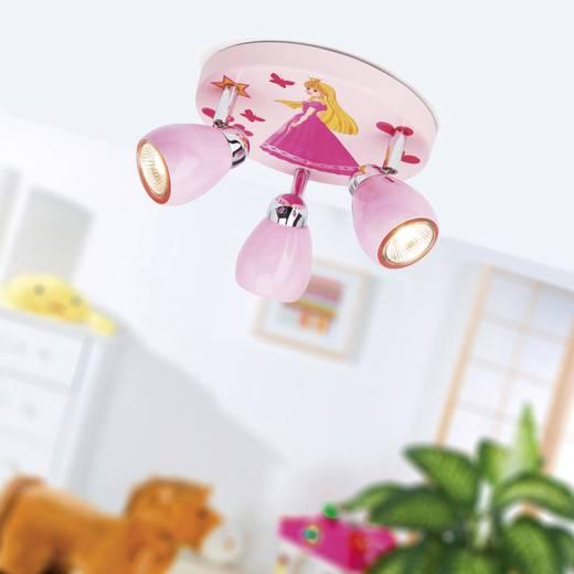 Deckenleuchte halogen gu10 50 w brilliant princeza rosa kaufen for Deckenleuchte halogen