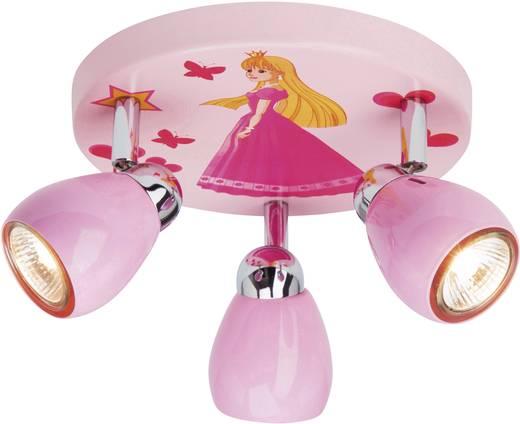 Deckenleuchte halogen gu10 50 w brilliant princeza rosa for Deckenleuchte halogen
