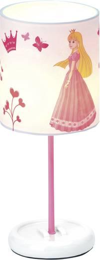 Tischlampe LED LED fest eingebaut Brilliant Princess Weiß, Rosa