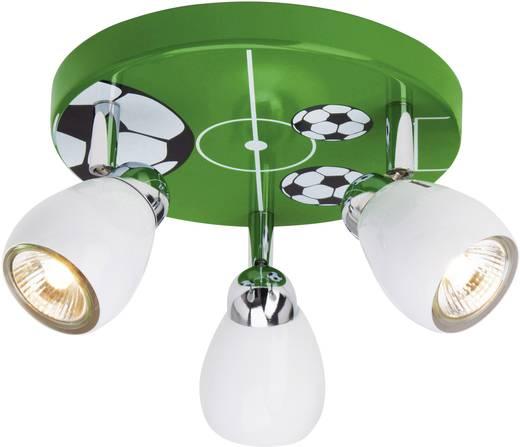 Deckenleuchte halogen gu10 50 w brilliant soccer bunt for Deckenleuchte halogen