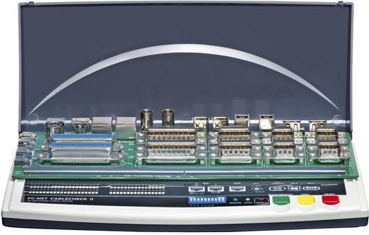 VOLTCRAFT® CT-7 Profi PC-Kabeltester, Kabel- und Stecker-Prüfgerät, Geeignet für 9-, 15-, 25polige SUB-D, 15polig SUB-HD