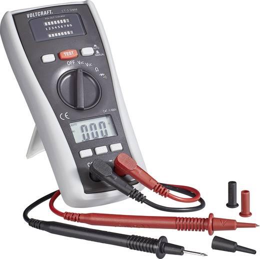VOLTCRAFT CT-3 DMM Multimeter mit Kabeltester, Kabel-Prüfgerät, Geeignet für BNC, RJ11 und RJ45
