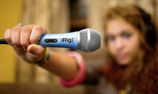 IK Multimedia iRig Voice Hand Gesangs-Mikrofon Übertragungsart:Kabelgebunden
