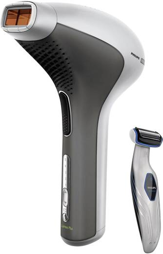 IPL Haarentferner Philips Lumea for Men TT3003/11 Akku Weiß, Grau