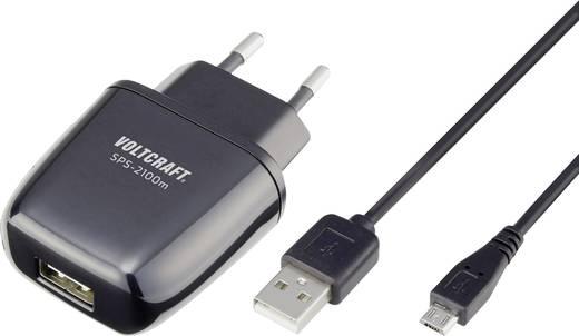 USB-Ladegerät VOLTCRAFT SPS-2100m SPS-2100m Steckdose Ausgangsstrom (max.) 2100 mA 1 x USB, Micro-USB Raspberry Pi 2 gee
