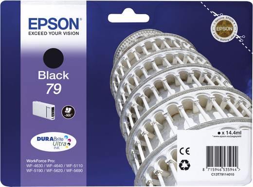 Epson Tinte T7911, 79 Original Schwarz C13T79114010