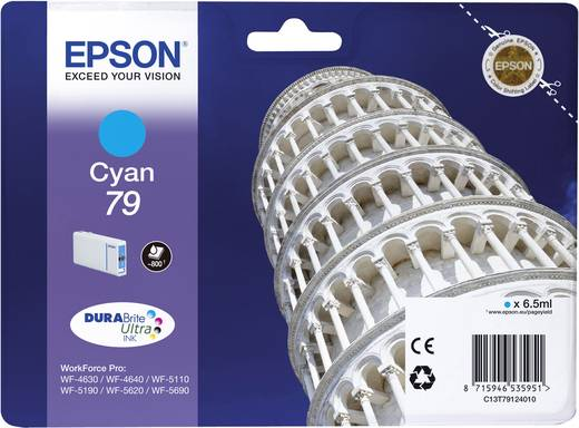 Epson Tinte T7912, 79 Original Cyan C13T79124010