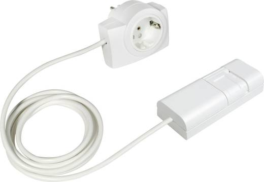 Ehmann 2160c0709 Schnurdimmer Geeignet für Leuchtmittel: LED-Lampe, Energiesparlampe, Halogenlampe, Glühlampe Weiß