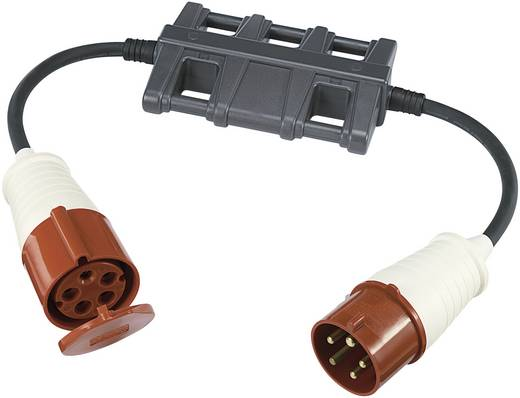 Messadapter [ CEE-Stecker - CEE-Kupplung] VOLTCRAFT CLA-3L 32