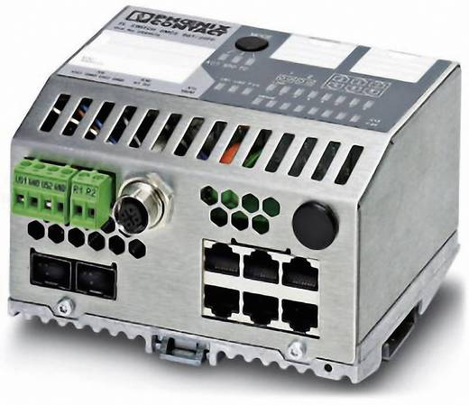Phoenix Contact Industrial Ethernet Switch FL SWITCH SMCS 6TX/2SFP Anzahl LWL Ports: 2 Anzahl Ethernet Ports: 6