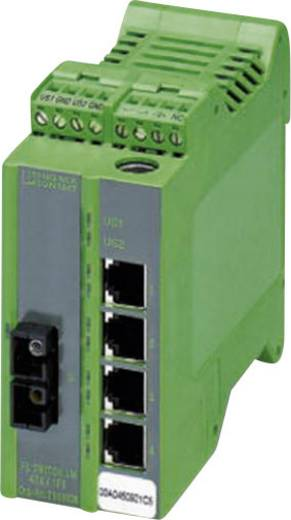 Phoenix Contact Industrial Ethernet Switch FL SWITCH LM 4TX/1FX SM Anzahl LWL Ports: 1 Anzahl Ethernet Ports: 4