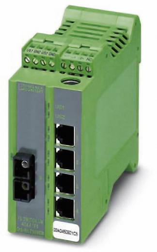 Phoenix Contact Industrial Ethernet Switch FL SWITCH LM 4TX/1FX Anzahl LWL Ports: 1 Anzahl Ethernet Ports: 4