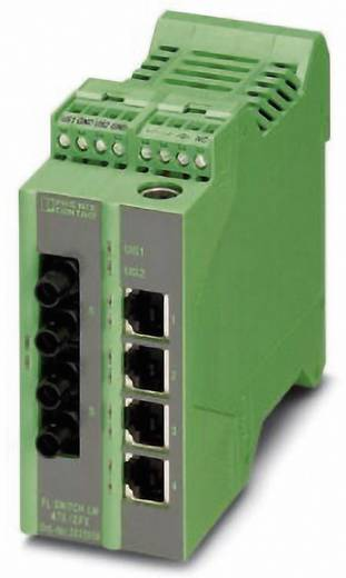 Phoenix Contact Industrial Ethernet Switch FL SWITCH LM 4TX/2FX ST-E Anzahl LWL Ports: 2 Anzahl Ethernet Ports: 4
