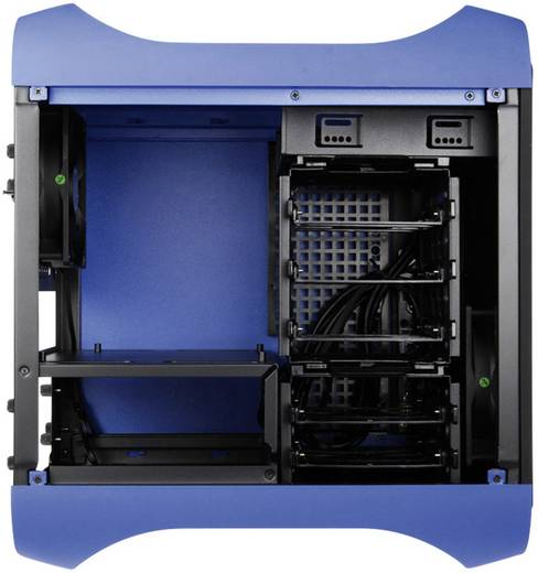 Tower PC-Gehäuse Bitfenix Prodigy Mini-ITX Blau 1 vorinstallierter Lüfter