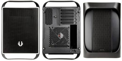 Tower PC-Gehäuse Bitfenix Prodigy M Micro-ATX Schwarz 1 vorinstallierter Lüfter