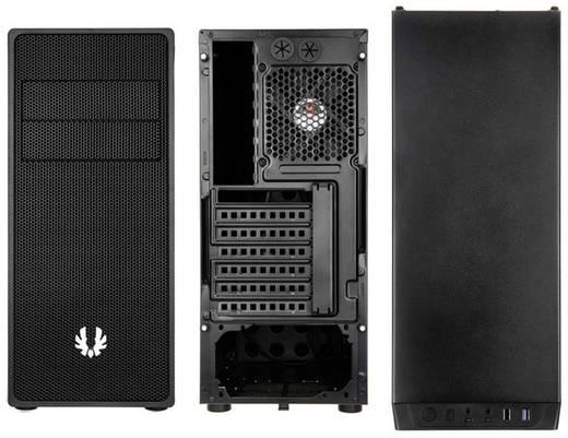 Midi-Tower USB-Gehäuse, Gaming-Gehäuse Bitfenix Neos Schwarz 1 vorinstallierter Lüfter, Staubfilter