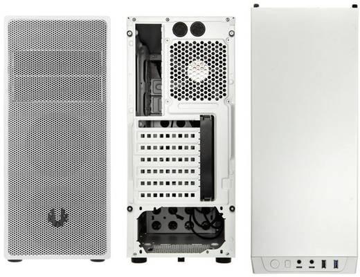 Midi-Tower USB-Gehäuse, Gaming-Gehäuse Bitfenix Neos Weiß 1 vorinstallierter Lüfter, Staubfilter