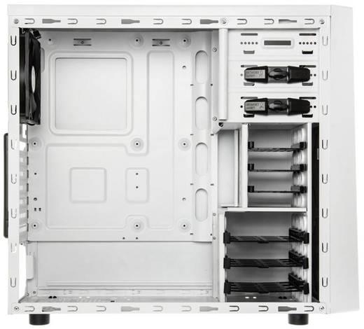 Midi-Tower USB-Gehäuse, Gaming-Gehäuse Bitfenix Neos Weiß, Rot 1 vorinstallierter Lüfter, Staubfilter