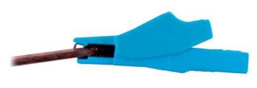 Sicherheits-Abgreifklemme Steckanschluss 2 mm CAT III 600 V Rot MultiContact SKK-200 RT