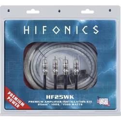 Sada na pripojenie Hi-Fi zosilňovača do auta Hifonics PREMIUM KABELKIT 25 mm² HF25WK