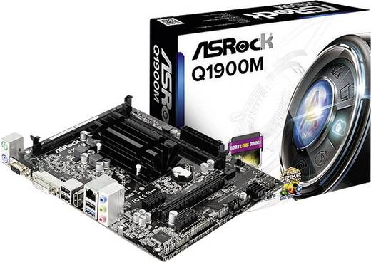PC Tuning-Kit (Media) Intel® Celeron® J1900 (4 x 2.0 GHz) Intel HD Graphics Micro-ATX