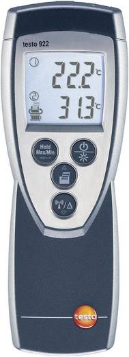 Temperatur-Messgerät testo 922 -50 bis +1000 °C Fühler-Typ K Kalibriert nach: DAkkS