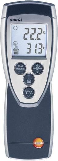 Temperatur-Messgerät testo testo 922 -50 bis +1000 °C Fühler-Typ K Kalibriert nach: Werksstandard