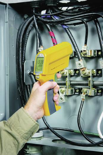 Infrarot-Thermometer Fluke 63 Optik 12:1 -32 bis +535 °C Kalibriert nach: ISO