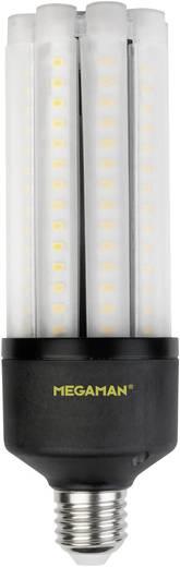 LED E27 Stabform 27 W = 50 W Warmweiß (Ø x L) 63 mm x 188 mm EEK: A+ Megaman 1 St.