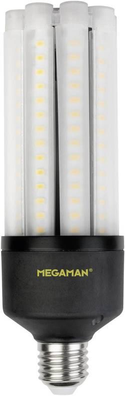 Ampoule LED E27 Megaman MM60724 tubulaire 27 W=50 W blanc neutre (Ø x L) 63 mm x 188 mm EEC: classe A+ 1 pc(s)