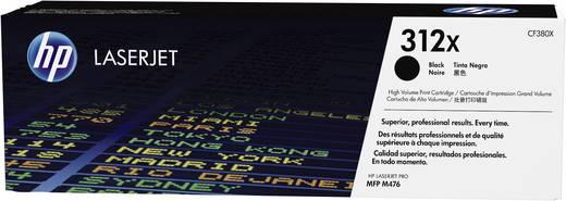 HP Toner 312X CF380X Original Schwarz 4400 Seiten