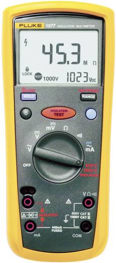 Fluke 1577 Isolationsmessgerät 500 V, 1000 V 600 MΩ Kalibriert nach ISO