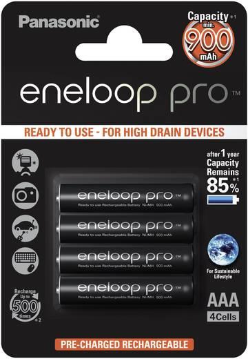 Micro (AAA)-Akku NiMH Panasonic eneloop Pro 900 mAh 1.2 V 4 St.