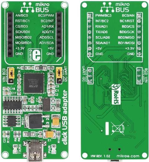 Entwicklungsboard MikroElektronika MIKROE-1433