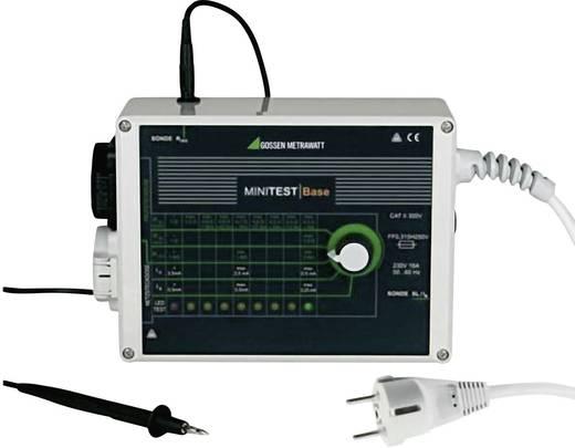 Gossen Metrawatt MINITEST Base Gerätetester DIN VDE 0701-1: 2000 und DIN VDE 0702: 2004