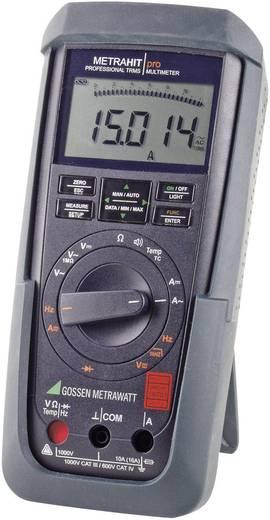 Hand-Multimeter digital Gossen Metrawatt METRAHIT PRO Kalibriert nach: DAkkS CAT III 1000 V, CAT IV 600 V Anzeige (Coun