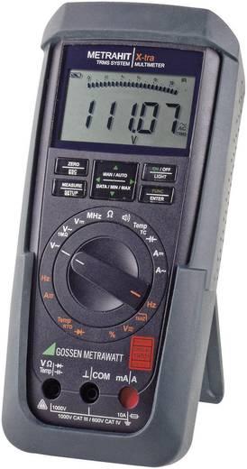 Gossen Metrawatt METRAHIT X-TRA Hand-Multimeter digital Kalibriert nach: DAkkS CAT III 1000 V, CAT IV 600 V Anzeige (Co