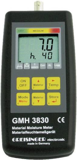 Materialfeuchtemessgerät Greisinger GMH 3830 HF Messbereich Baufeuchtigkeit (Bereich) 4 bis 100 % vol Messbereich Holzfe