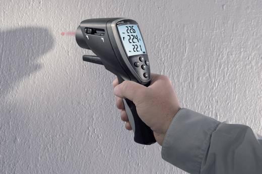 Infrarot-Thermometer testo 845 Optik 75:1 -30 bis +950 °C Kontaktmessung Kalibriert nach: DAkkS