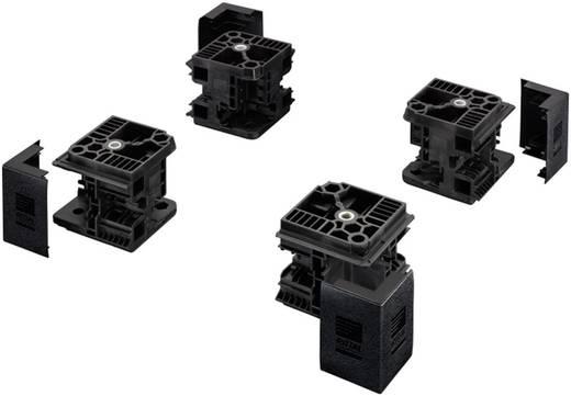 Flex-Block Eckstück Stahlblech Schwarz (RAL 9005) Rittal TS 8100000 4 St.