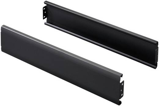Flex-Block Blende (B x H) 1800 mm x 100 mm Stahlblech Schwarz (RAL 9005) Rittal TS 8100180 2 St.