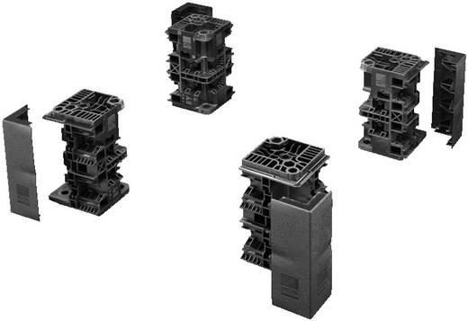 Flex-Block Eckstück Stahlblech Schwarz (RAL 9005) Rittal TS 8200000 4 St.