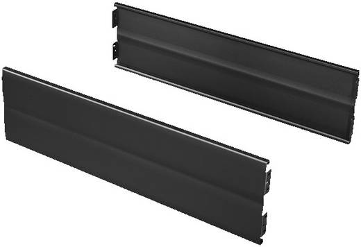 Flex-Block Blende (B x H) 500 mm x 200 mm Stahlblech Schwarz (RAL 9005) Rittal TS 8200500 2 St.
