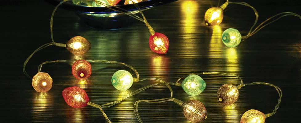 Polarlite LBA-20-005 Motiv-Lichterkette Lampion