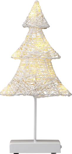 LED-Weihnachtsdekoration Weihnachtsbaum Warm-Weiß LED Polarlite LBA-51-005 Weiß